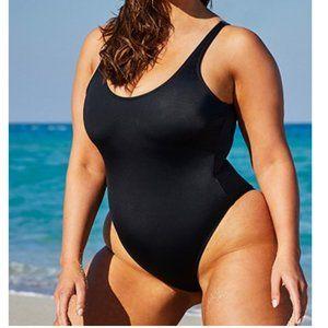 Ashley Graham Cheeky Hotshot One Piece Swimsuit